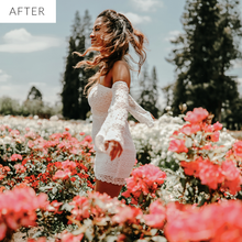 green lightroom presets by dreamy presets