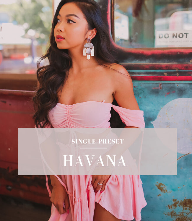 Havana Lightroom Mobile Preset | Blogger Preset