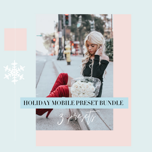 Holiday Mobile Preset Bundle