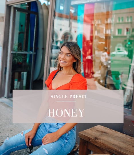 honey lightroom preset by dreamy preset