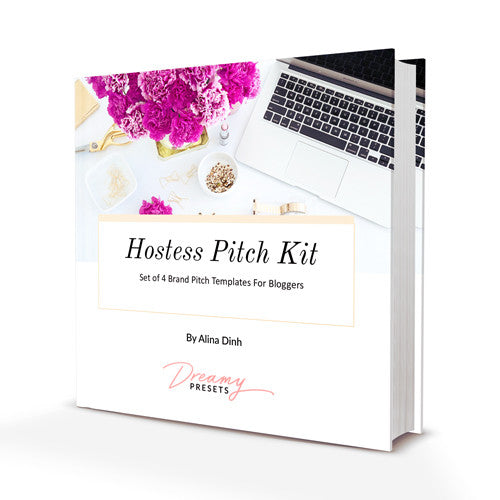 hostess brand pitch email templates for bloggers