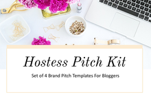 Brand Pitch Email Templates For Hostess Bloggers