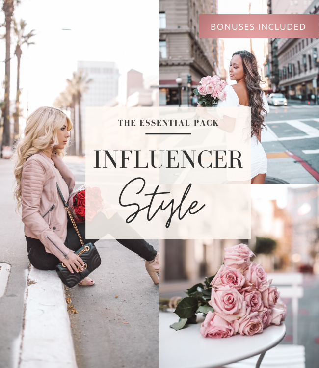 Style Influencer Lightroom Preset Pack