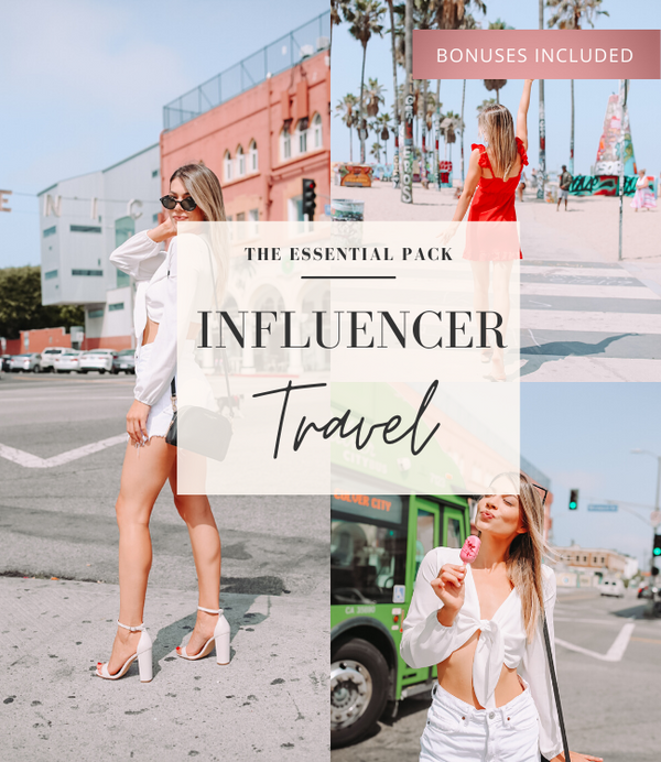Travel Influencer Lightroom Preset Pack