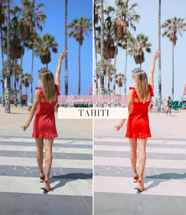 Travel Influencer Lightroom Preset Pack | Tahiti Lightroom Preset