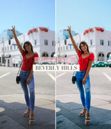 Travel Influencer Lightroom Preset Pack | Beverly Hills Lightroom Preset