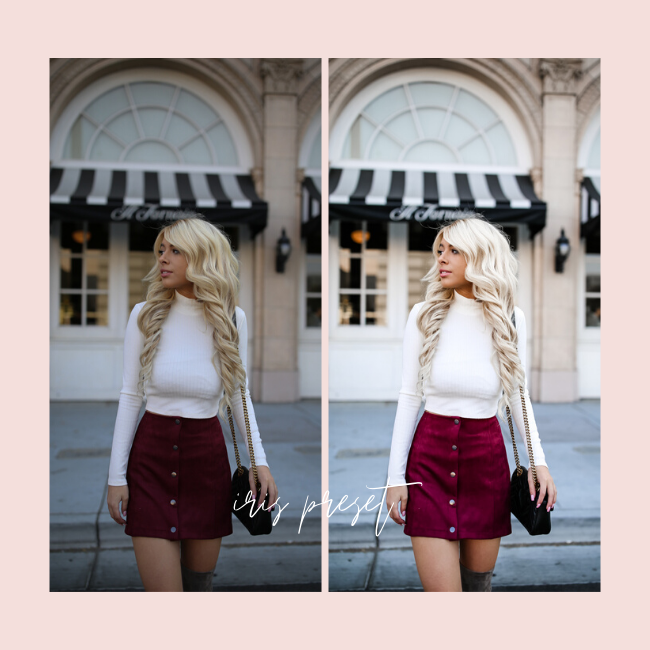 blogger lightroom mobile presets