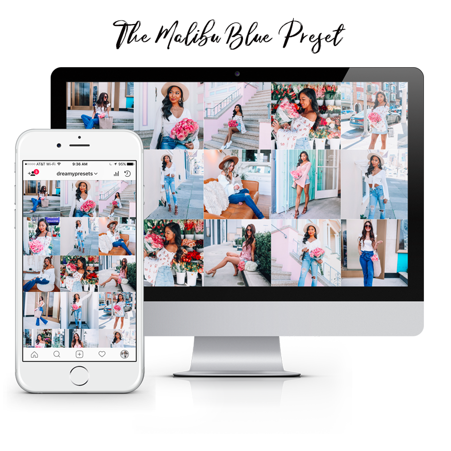 instagram presets, blue lightroom presets, mobile presets, blogger presets