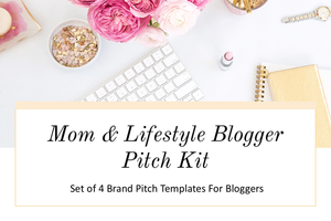 Brand Pitch Email Templates for Mom & Lifestyle Bloggers
