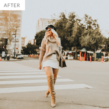 orange tone lightroom presets
