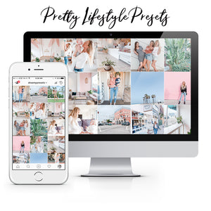 mobile lightroom presets for bloggers, mom, photographers