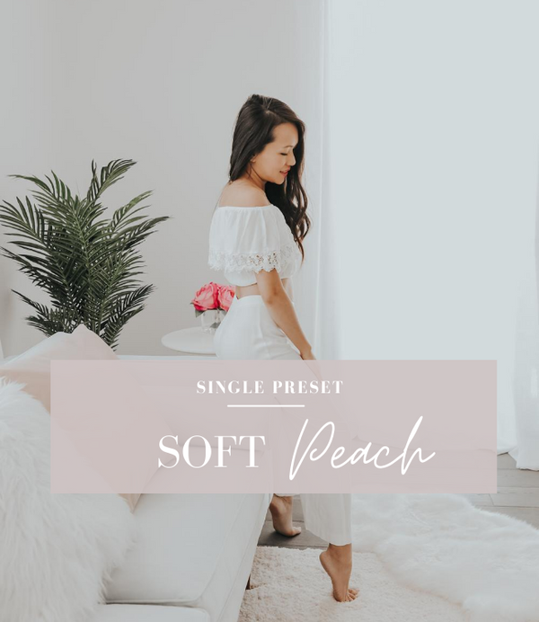 Soft Peach Lightroom Preset