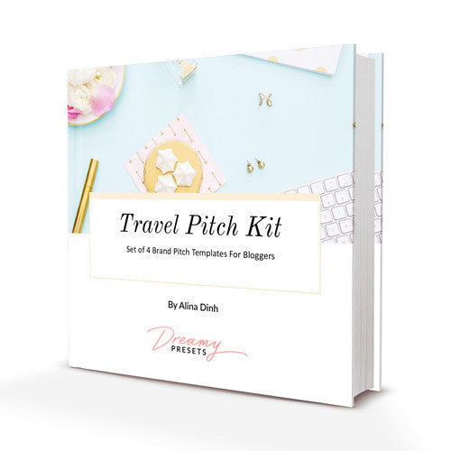 Travel brand pitch email templates for blogger