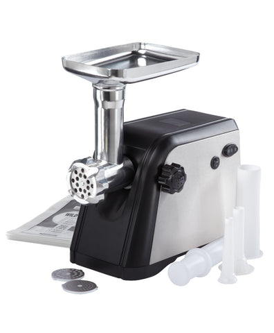 Stainless Steel Electric Meat Grinder with 500-Watt Peak Motor Power,  - Eastman Outdoors
