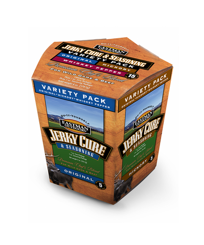Jerky Cure and Seasoning Variety Pack - 15lbs.,  - Eastman Outdoors