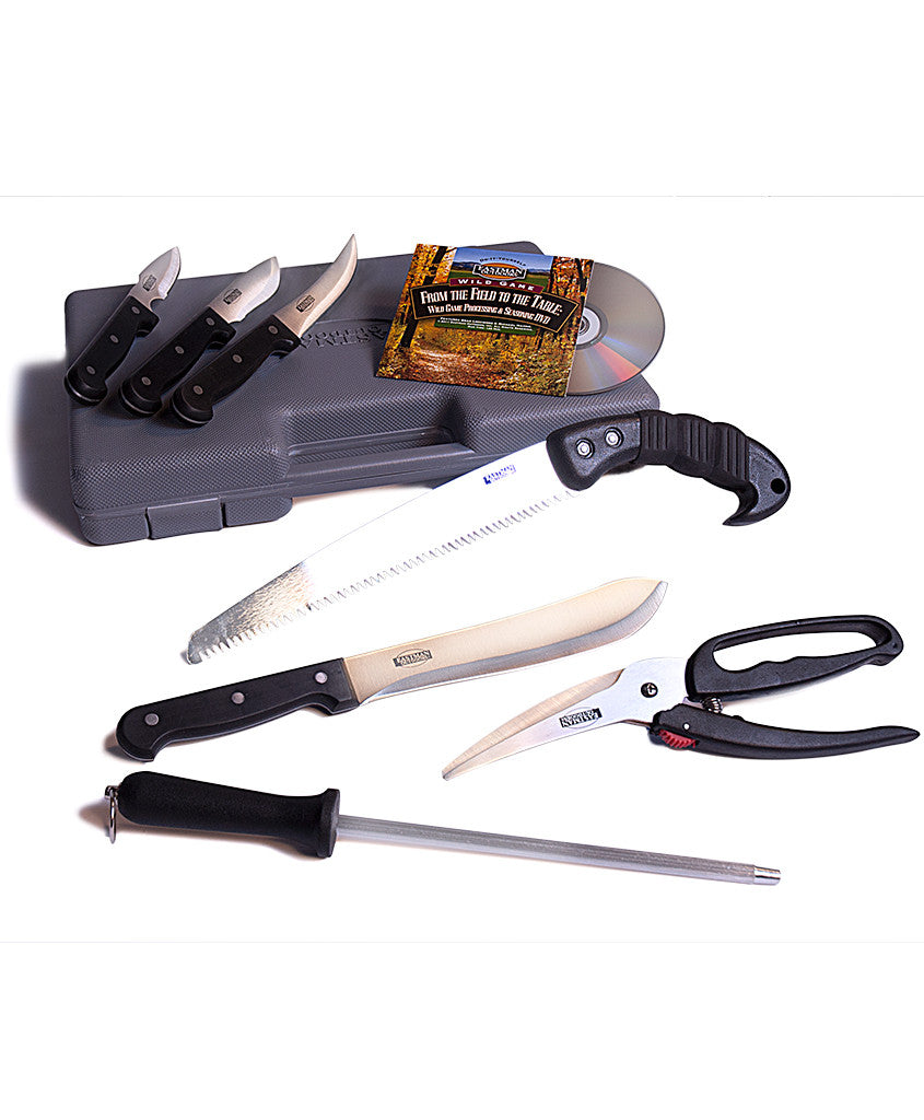 7-Piece Wild Game Processing Kit with Case and Bonus DVD,  - Eastman Outdoors
