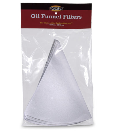 Set of 6 Disposable Oil Funnel Filters,  - Eastman Outdoors