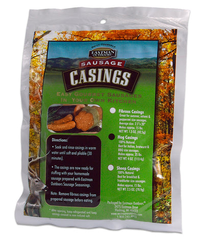 Natural Hog Sausage Casings,  - Eastman Outdoors