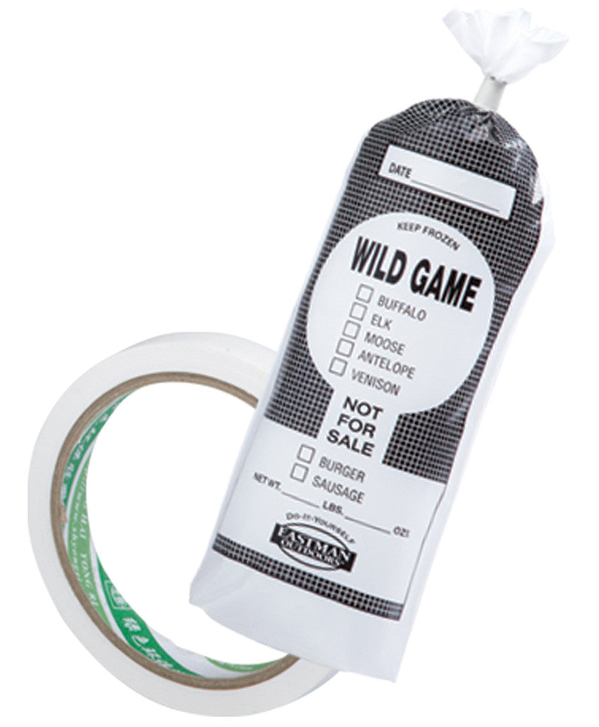 Wild Game Freezer Bag and Tape Kit,  - Eastman Outdoors