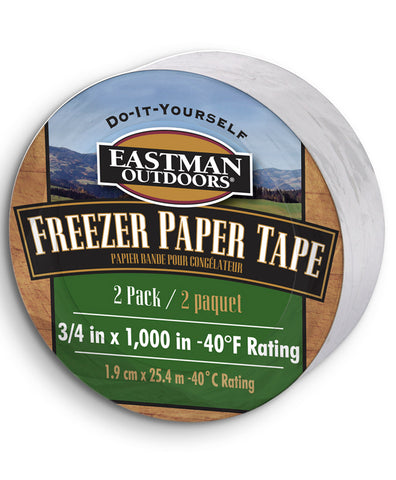 1000' Freezer Paper Tape - 2 pack,  - Eastman Outdoors