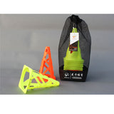 WINDPROOF SOCCER AND AGILITY CAVALETTI CONES - 20 CONES