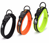 REFLECTIVE ADJUSTABLE SOFT DOG COLLAR