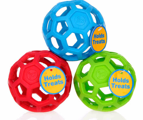 HOL-EE ROLLER DOG BALL FOR TRAINING AND PLAY