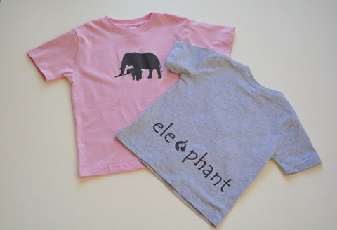Elephant Classic Grey Garment Dyed Long Sleeve Tee