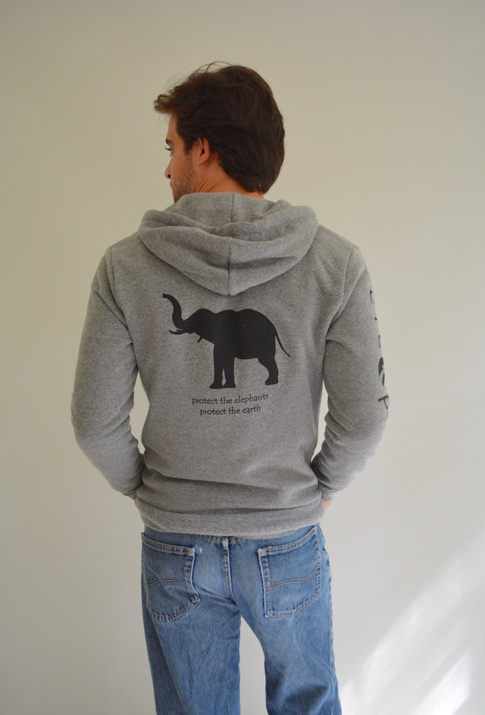 Elephant Rocky Eco Fleece Zip Hoodie