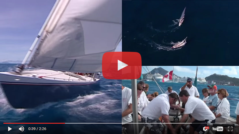 12 Metre Regatta, St. Maarten and Cozumel Video