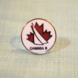 "Canada 2 ""America's Cup"" Pin"