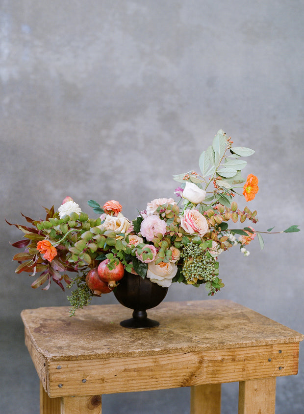 The Briddie-Lush  Centerpiece