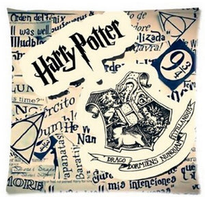 50% OFF!!! Cool Harry Potter Pillow Cover Zippered On One Side  Printing