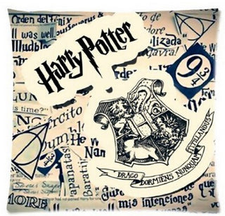 50% OFF!!! Free Shipping, Cool Harry Potter Pillow Cover Throw Pillowcase Zippered On One Side  Printing