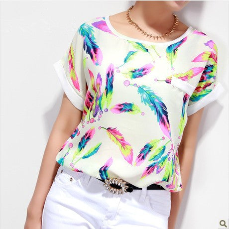 Free  Shipping !!!!! Big Size T-Shirt S-XXL  Spring Summer Fashion t Shirt Women Tops Tee