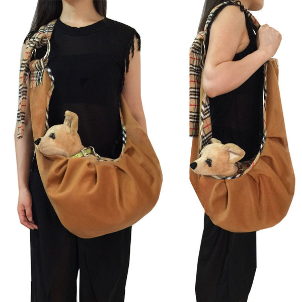 Pet Cat Small Dog Travel Carrier Chihuahua Carry Tote Shopping Bag Handbag