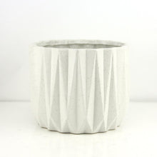 Load image into Gallery viewer, Grit Angles Grey Planter/Vase