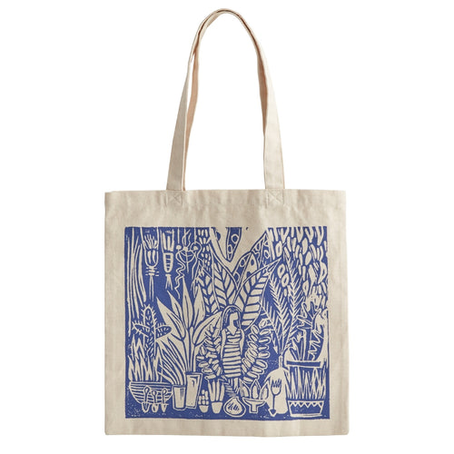 fun accessory. Canvas tote bag. reusable bag. zuzu's petals florist boutique gift shop. woman owned. Shop local. Shop Bridgeport. Halsted street.