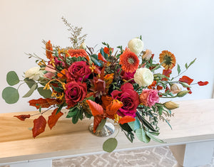 Harvest Moon Floral Arrangment