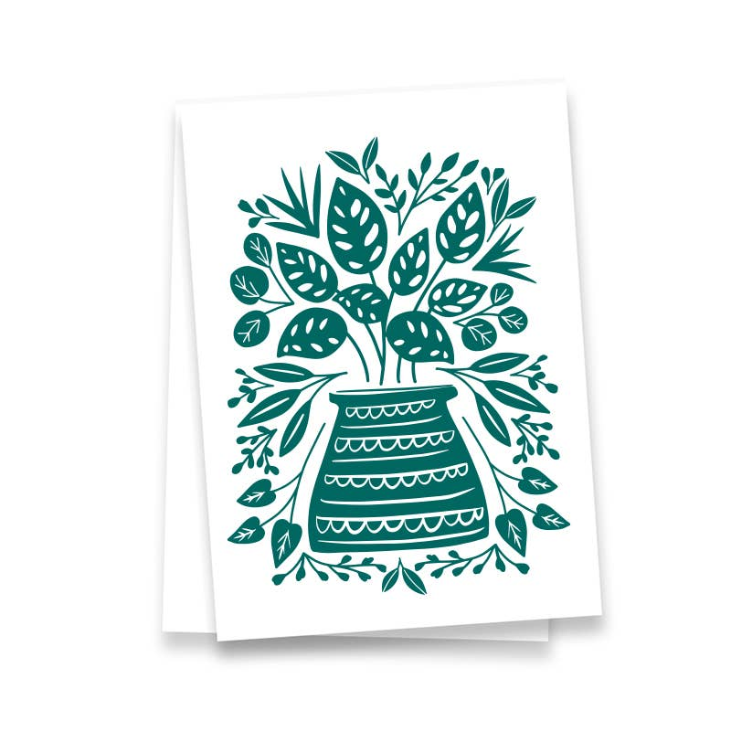 Plant Lover, Plant Lady, Plants Kitchen Towel, tea towel - Pen & Paint