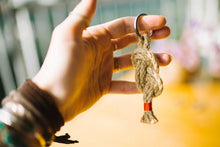 Load image into Gallery viewer, Jute Keychain- Assorted Colors