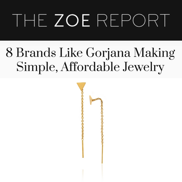The Zoe Report: 8 Brands Like Gorjana Making Simple, Affordable Jewelry