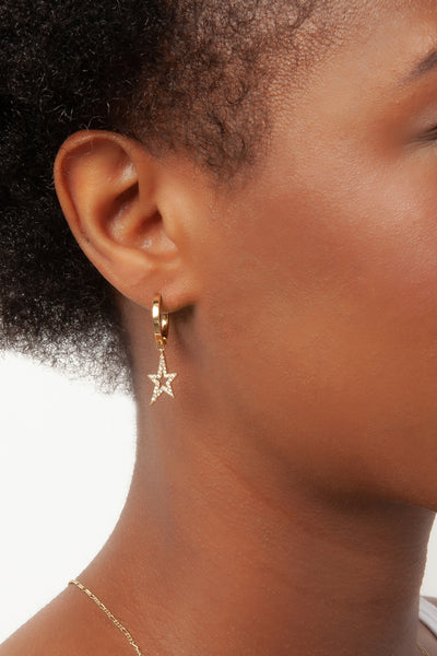 Star Earring Charms