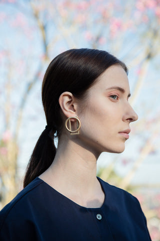 Mixed Shape Earrings