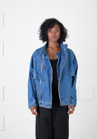 Girbaud Denim Moto Jacket