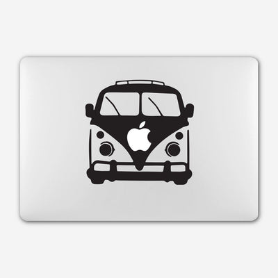 Autocollant Macbook Combi VW par T-Pop