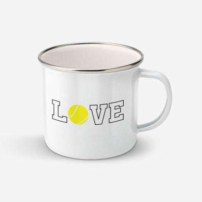 Mug Love tennis par T-Pop