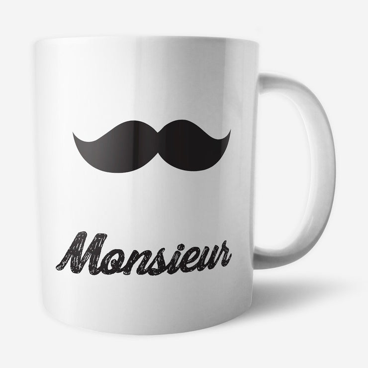 Mug Monsieur par T-Pop