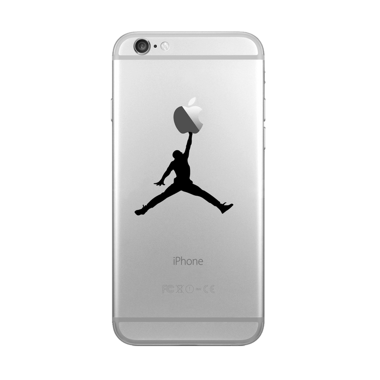 Sticker iPhone Jordan par T-Pop