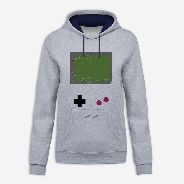 Sweat à capuche Game boy par T-Pop